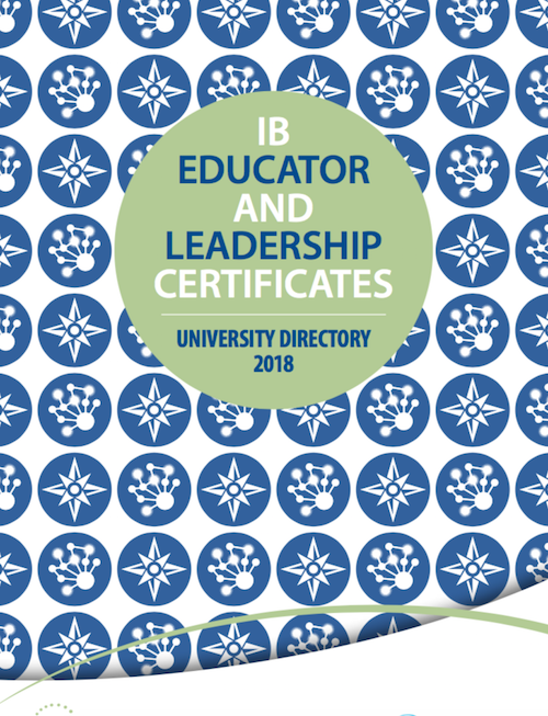 IB educator certificates university directory